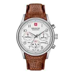 Pánské hodinky SWISS MILITARY HANOWA Navalus Multifunction Brown