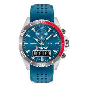 Pánské hodinky SWISS MILITARY HANOWA Multimission Blue