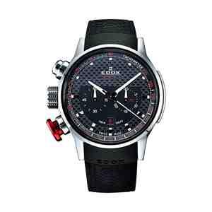 Pánské hodinky EDOX Chronorally Black Red