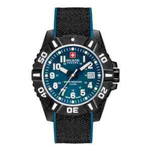 Pánské hodinky SWISS MILITARY HANOWA Black Carbon