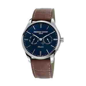 Pánské hodinky FREDERIQUE CONSTANT Classics Brown Leather Strap