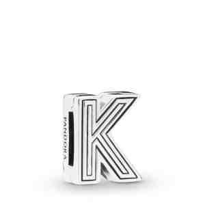 Klip PANDORA Reflexions písmeno K