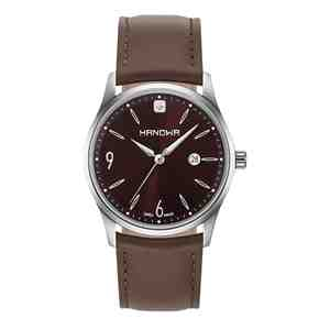 Pánské hodinky HANOWA Carlo Classic Dark Brown