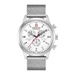 Pánské hodinky SWISS MILITARY HANOWA Chrono Classic Silver White