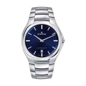 Pánské hodinky EDOX Les Bémonts Silver Blue