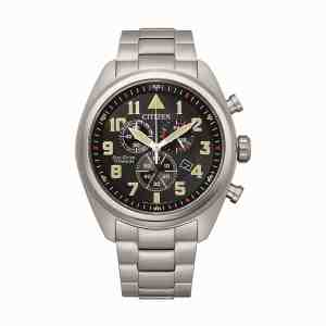 Pánské hodinky CITIZEN Super Titanium Chrono AT2480-81E