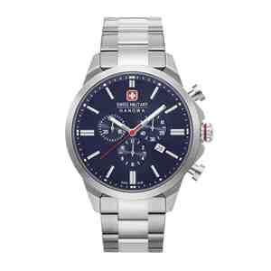 Pánské hodinky SWISS MILITARY HANOWA Chrono Classic Blue Red