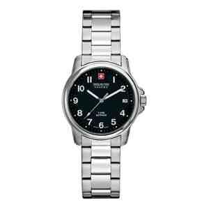 Dámské hodinky SWISS MILITARY HANOWA Recruit Prime Silver Black