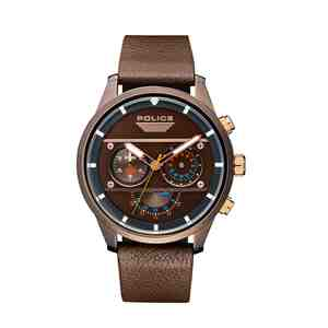 Pánské hodinky POLICE Vesterbro Brown