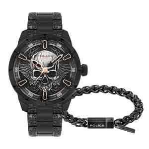 Set POLICE Santorin pánské hodinky s náramkem