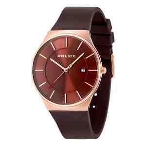 Pánské hodinky POLICE New Horizon Dark Brown