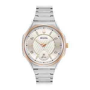Dámské hodinky BULOVA Curv Diamond 98P182