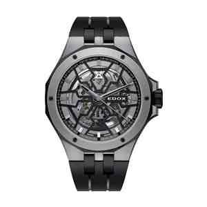 Pánské hodinky EDOX Delfin Black Grey