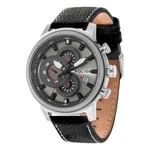 Pánské hodinky POLICE Explorer Silver