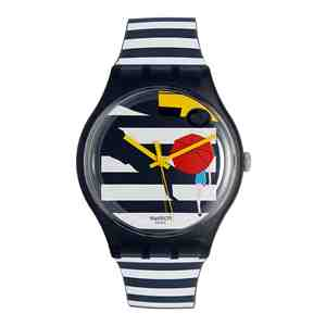 Unisex hodinky SWATCH Cross the Path SUOM108