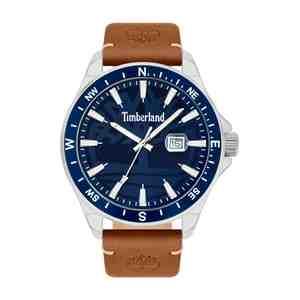 Pánské hodinky TIMBERLAND Swampscott Silver Brown