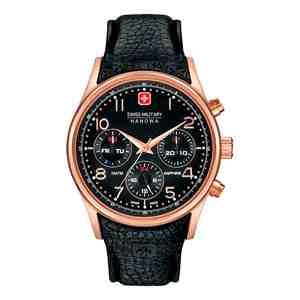 Pánské hodinky SWISS MILITARY HANOWA Navalus Multifunction Rose&Black