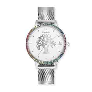Dámské hodinky ENGELSRUFER Strom života s barevnými zirkony