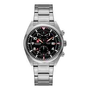 Pánské hodinky SWISS MILITARY HANOWA Airborne Silver