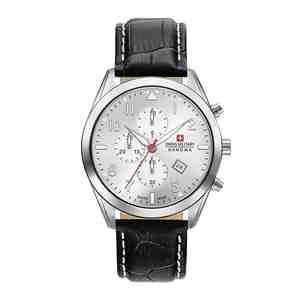 Pánské hodinky SWISS MILITARY HANOWA Helvetus Chrono Black