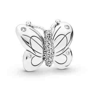 Klip PANDORA Motýl velký _S