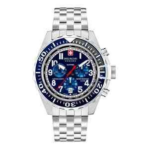 Pánské hodinky SWISS MILITARY HANOWA Touchdown Chrono Blue